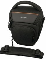 Soft Carrying Case Protects Camera And Attached Standard Zoom Lens  Prot