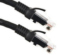 Xenta Cat6 Snagless UTP Patch Cable (Black) 5m