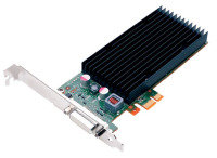 NVS 300/Pci-Express x1 Low Profile 512MB GDDR3 64bit memory with DMS59 connector giving dual VGA outputs