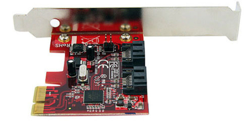 Startech 2 Port Pci Express Sata 6 Gbps Esata Controller Card  Dual Port Pcie Sata Iii Card