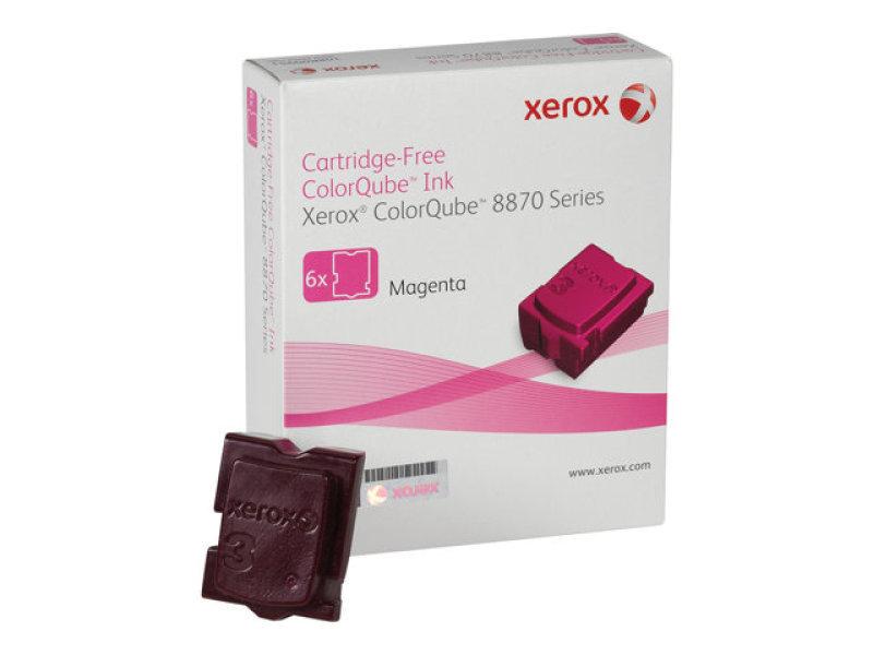 Xerox F8870 Magenta Solid inks - Pack of 6