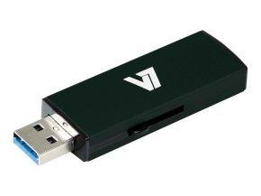 32GB V7 Slide-In USB 3.0 Flash Drive - Black