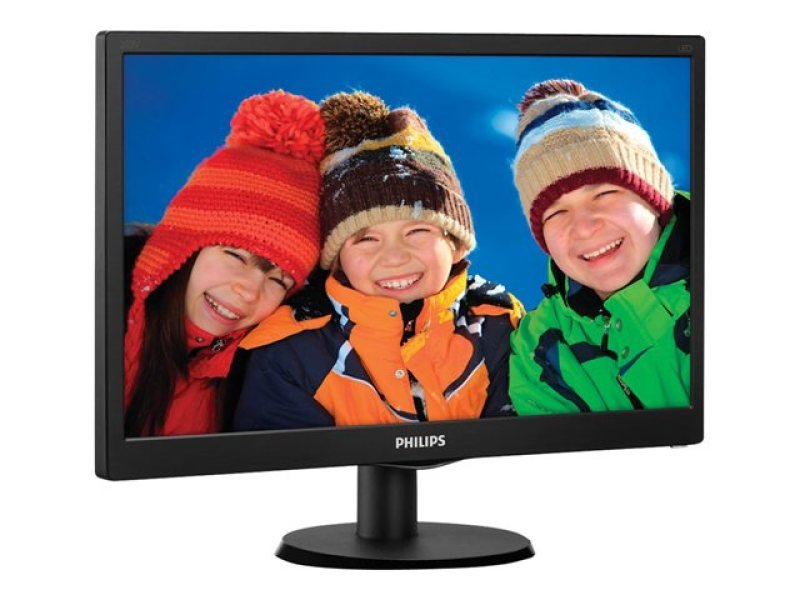 Philips 203V5LSB2610 19.5&quot LED  VGA Black Monitor