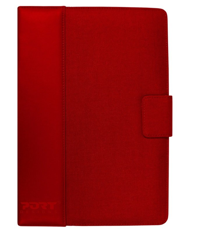 "Image of Port Designs Phoenix IV Tablet Folio - Universal - For tablets up to 10 1"" - Red"