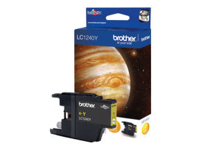 Brother LC1240Y Standard Yield Ink Cartridge - Yellow