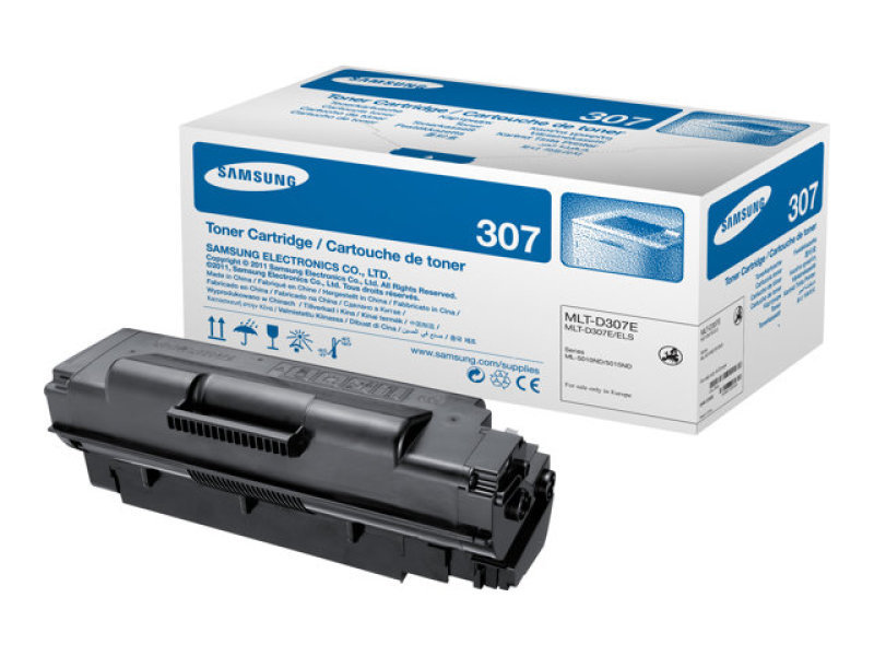 Samsung MLT-D307E Extra High Yield Black Toner Cartridge - 20,000 Pages