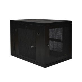 12u Wall Mount Rack Enclosure Cabinet W/ 33 Inch Extended Depth