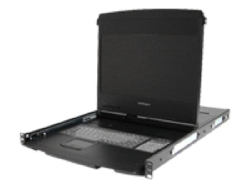 StarTech.com 1U 17&quot HD 1080p Dual Rail Rackmount Widescreen LCD Console