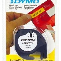 Dymo Plastic tape 12mmx4m- White