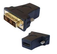 V7 ADAPTER DVI-D TO HDMI BLACK - DVI-D DUAL LINK/HDMI M/F