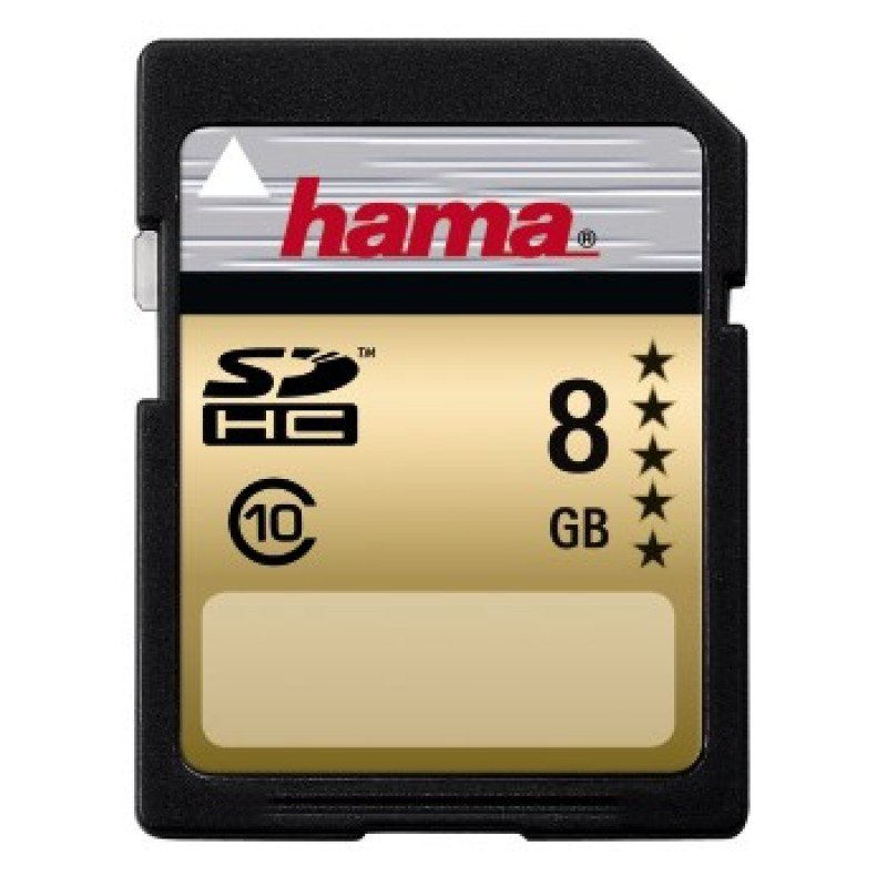 Hama High-Speed Gold SDHC 8GB Class 10 22MB/s