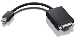 Lenovo - DisplayPort cable - mini-DisplayPort - HD-15 - 20 cm - for Lenovo LS1951, LS2221, LS2251, ThinkPad T430, T530, ThinkVision LT1952, LT2252, LT2452