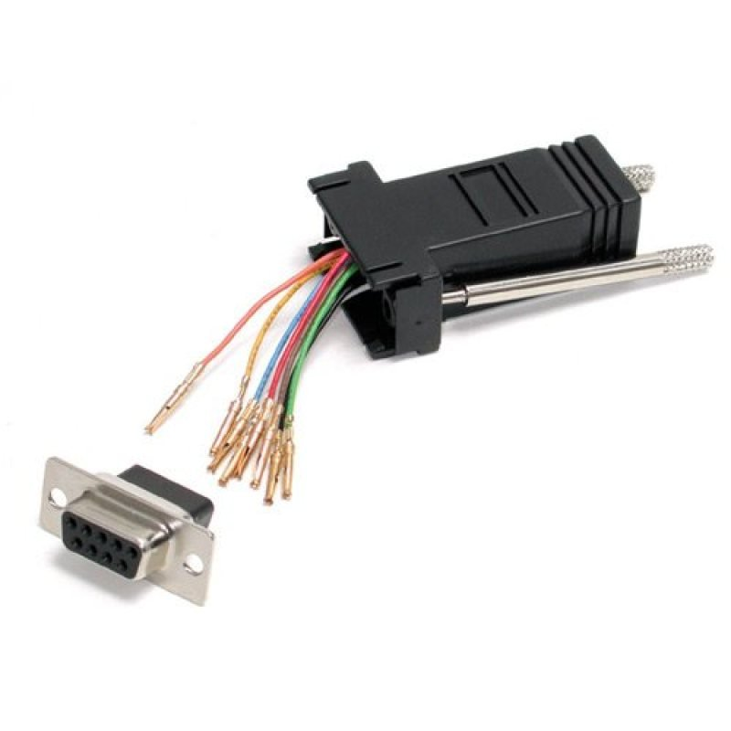 StarTech.com DB9 to RJ45 Modular Adapter - F/F