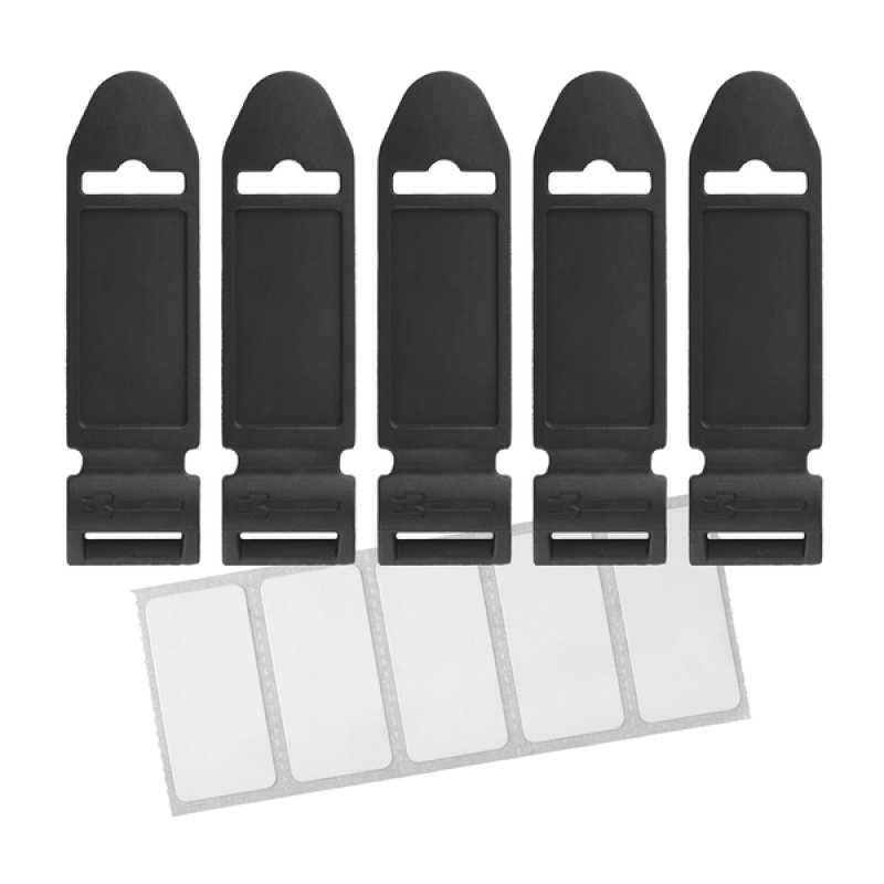 LTC Lable - Pack of 5 (Black)