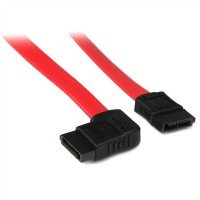 12in Sata To Right Side Angle Sata Serial Ata Cable