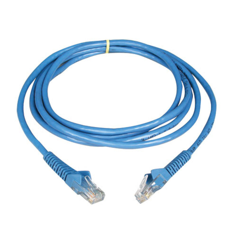 Image of 10-ft. Cat5e 350MHz Molded Cable (RJ45 M/M) - Blue