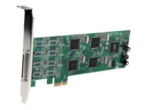 StarTech.com 8 Port Low Profile PCI Express RS232 Serial Adapter Card with 161050 UART
