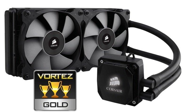 Corsair Hydro Series H100i Extreme Performance Liquid CPU Cooler