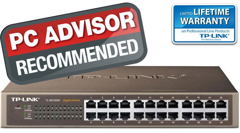 TP-Link TL-SG1024D 24-port Desktop/Rackmount Gigabit Switch