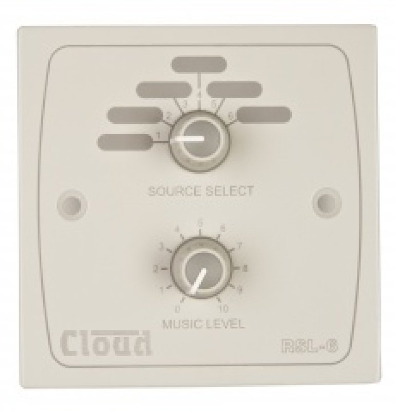 Cloud Electronics RSL-6 - White Remote Music Source Select