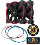 Corsair Air Series SP120 Quiet Edition High Static Pressure 120mm Dual Fans With Customizable Three Colored Rings