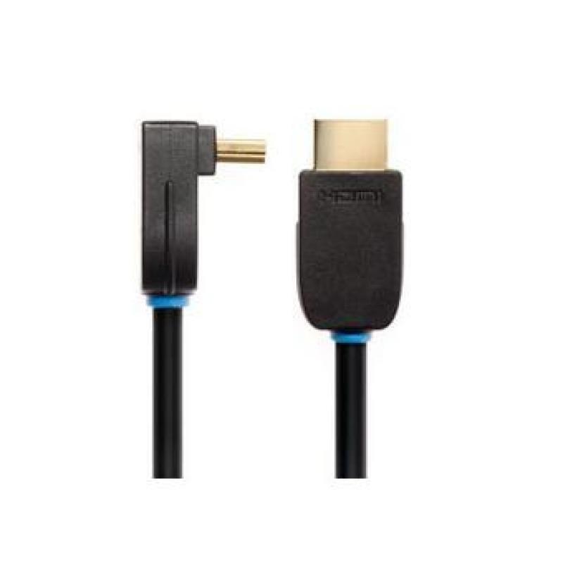 Wires Nx2  Hdmi Rt Angle A Plug  Hdmi A Plug  5m