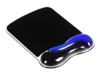 Kensington Duo Gel Mouse Mat Wave - Blue & Black