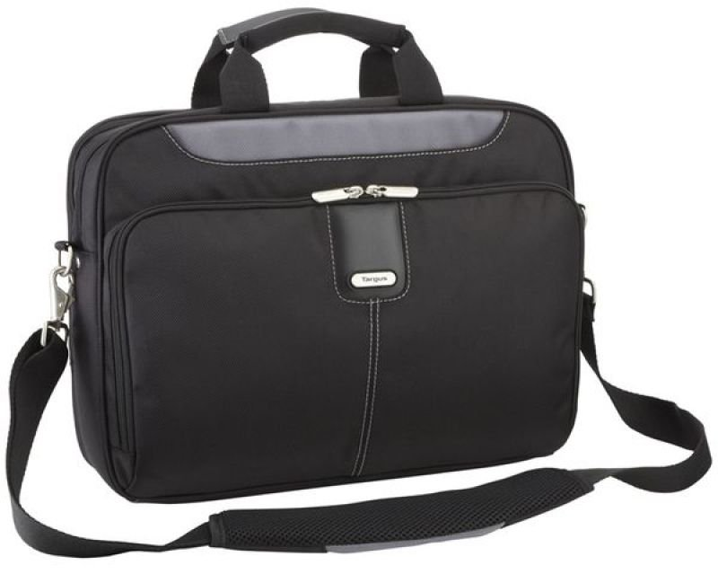 Targus Transit Toploading Case For Laptops up to 15.6&quot  Black  Grey