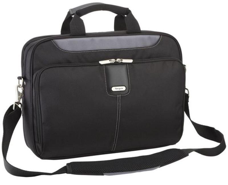 Targus Transit Toploading Case For Laptops up to 15.6&quot  Black  Grey