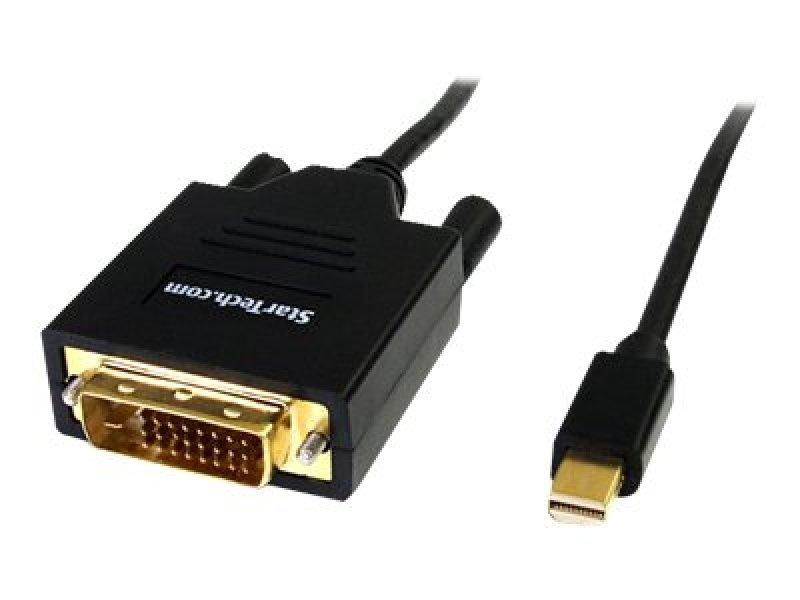 StarTech.com 3ft Mini DisplayPort to DVI Adapter Cable Mini DP to DVIBlack