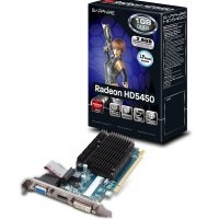 Sapphire HD 5450 1GB DDR3 VGA DVI HDMI PCI-E Graphics Card
