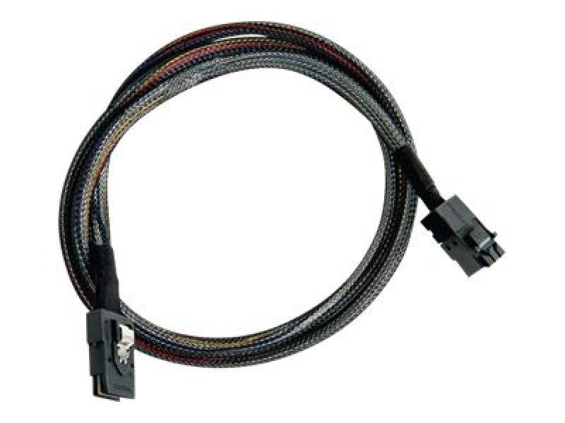 Adaptec I-HDmSAS-mSAS-1M 6GBs SAS HD Cable 1m - 7/7Q Adapter