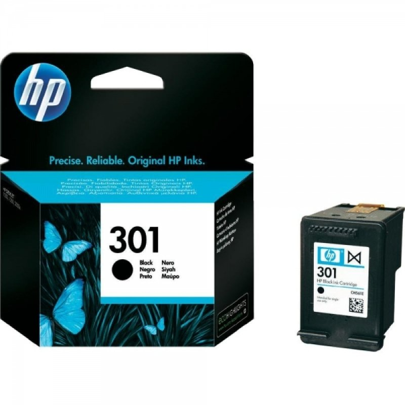 HP 301 Black Printer Ink Cartridge  CH561EE