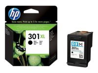 HP 301XL Black Inkjet Print Cartridge - 480 Pages - CH563EE