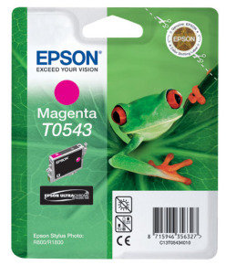 Epson T0543 13ml Pigmented Magenta Ink Cartridge