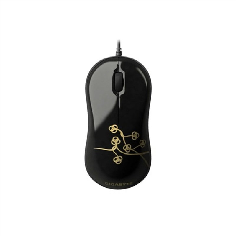Gigabyte M5050S Curvy Optical Wired Mouse Black
