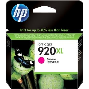 HP 920XL Magenta Ink Cartridge - CD973AE