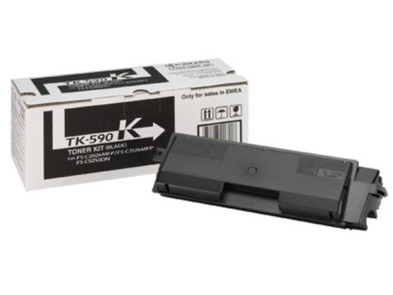 Kyocera TK 590K Black Toner Cartridge