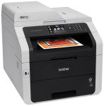 Brother Mfc-9340cdw All in One colour Laser Printer with Duplex Printing