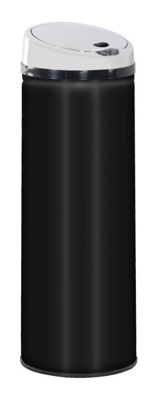 Vida Black Sensor Bin 50 Litre