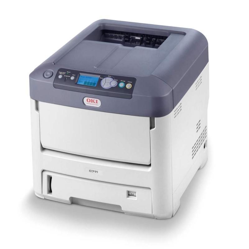 Image of OKI C711N Colour Network A4 Laser Printer
