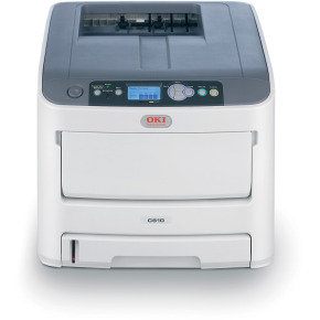 OKI C610DN Colour Network Laser Printer with Duplex