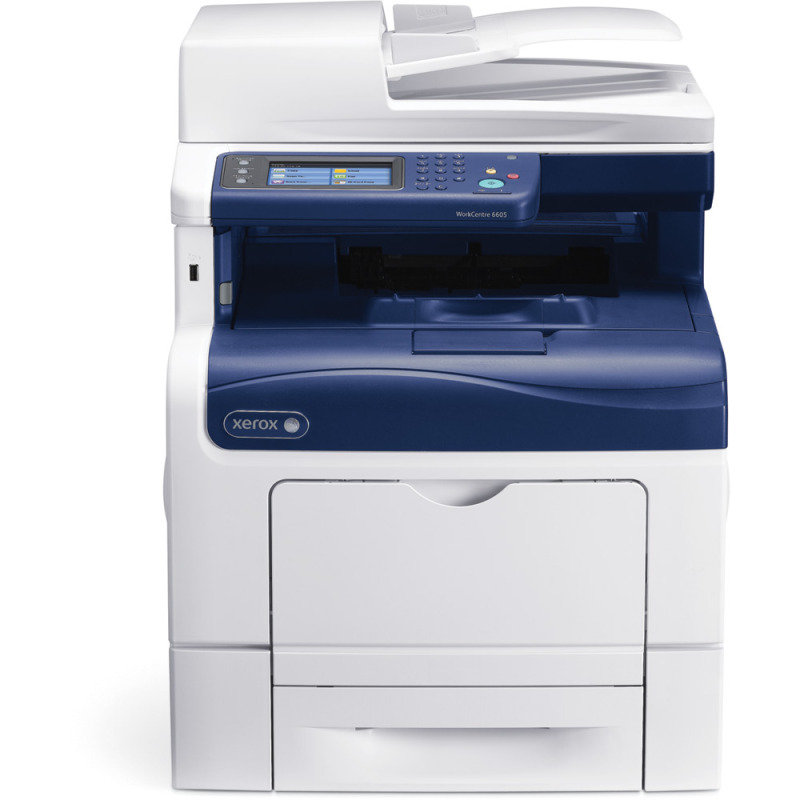 Xerox WorkCentre 6605N Multifunction Colour Laser Printer