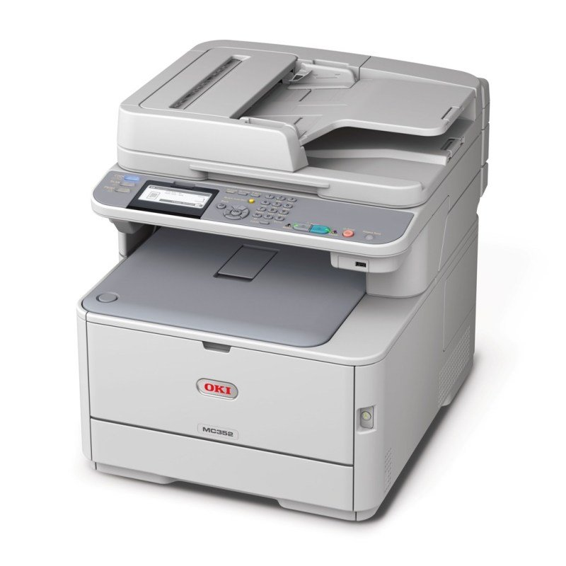 Image of Oki MC352DN A4 Multifunction Colour Laser Printer