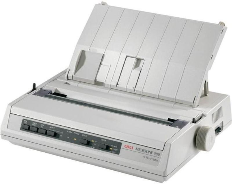 OKI Microline 280 Serial 9 Pin Dot Matrix Printer