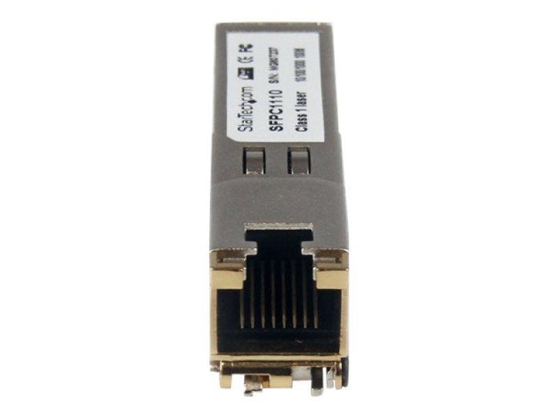 Startech Rj45 Gigabit Copper Sfp Transceiver Module - Mini-gbic 100m