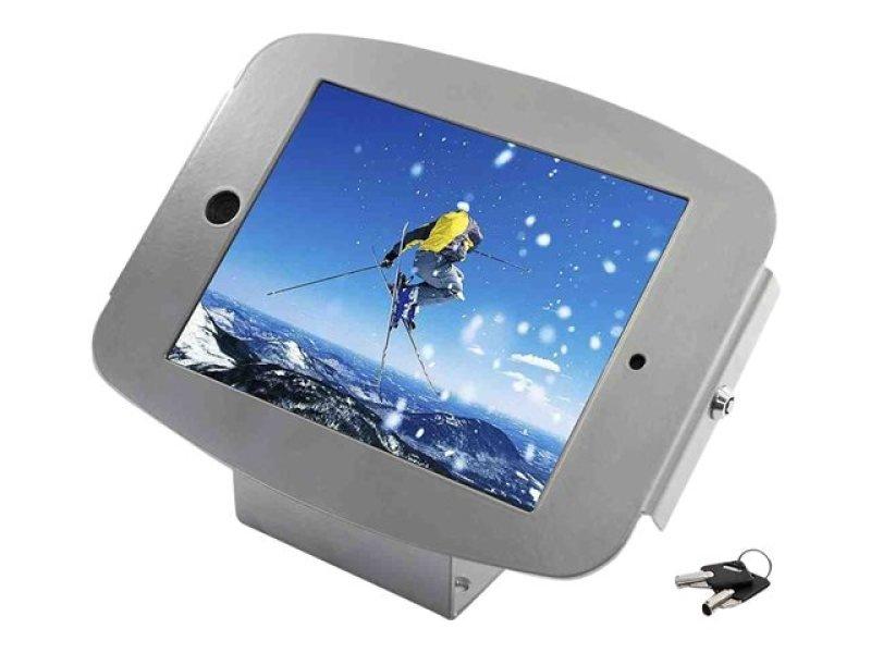 Image of iPad mini Space Enclosure Kiosk Silver