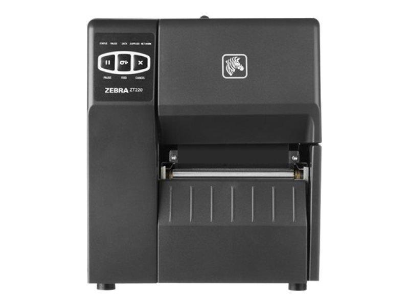 Zebra ZT220 DT/TT Printer - 300dpi - USB - Serial - Ethernet