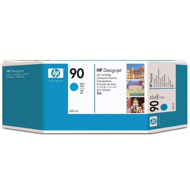 Hp 90 Cyan Ink Cartridge  400ml