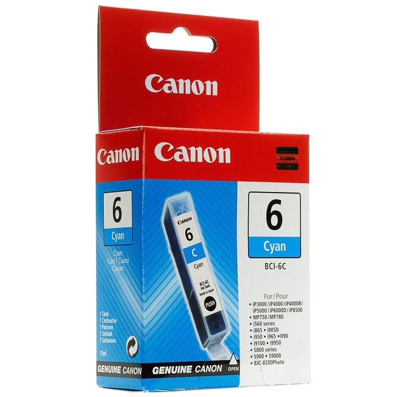 Canon BCI-6C CyanInkjet Cartridge